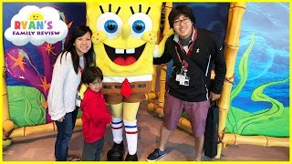 Repeat youtube video Amusement Park Rides for kids at Universal Studio Family Fun trip and meet Spiderman IRL