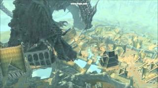 Skyrim Mod: Ultra Dragons - Alduin Lands on Whiterun