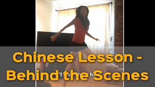 Behind the scenes of how Yangyang prepares her Chinese lessons