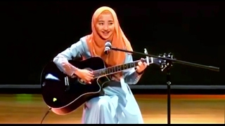 "Video Cewek Jilbab Ini, Mimi Nazrina Nyanyi ""Kun Anta"" Humood AlKhuder - Plus Main Gitar Akustik - Cover download MP3, 3GP, MP4, WEBM, AVI, FLV Desember 2017"
