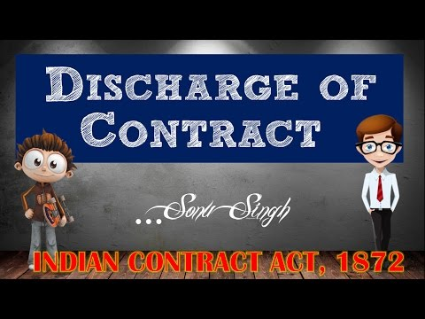 discharge of contraact