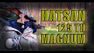 пневматическая винтовка Hatsan 125 TH//Тест