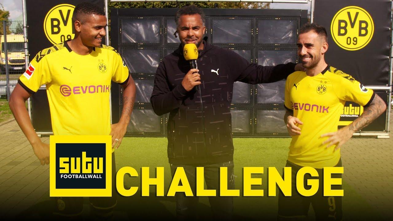 Die BVB-Sutu-Challenge | Paco Alcácer & Manuel Akanji | Episode 1