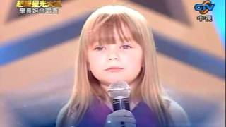Connie Talbot ( 小康妮 ) - Over The Rainbow & I Wii Always Love You by lululok.avi