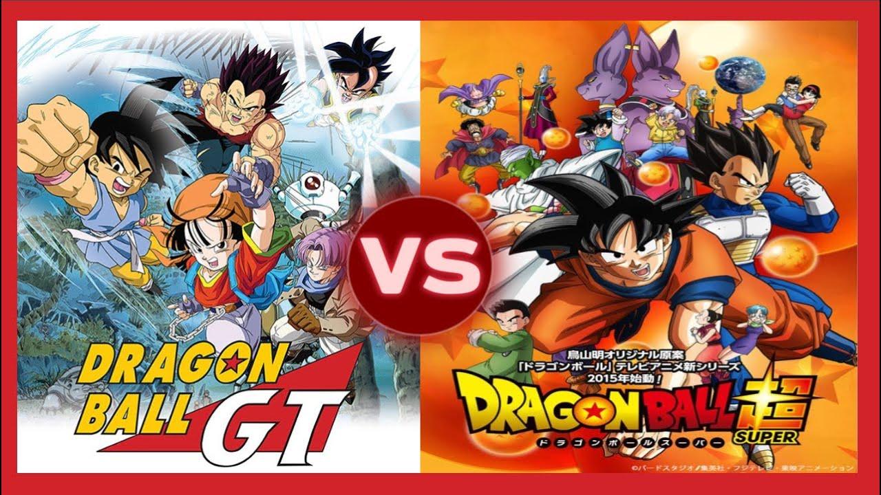 Dragon ball Super vs Dragon Ball GT Comparacin  YouTube