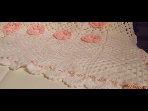 Bordino A Ventaglio Crochet Fan Border Youtube