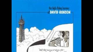 David Gunson What goes up might come down