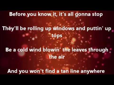 Brad Paisley Beat This Summer (Lyrics Video)