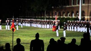 U.S.Marines Evening Parade 2