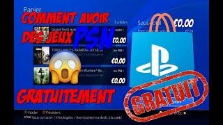 COMMENT AVOIR DES JEUX PSN GRATUITEMENT SUR PS4 NO FAKE