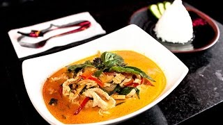 Thai Red Curry With Chicken & Vegetables Recipe แกงเผ็ดไก่ 紅咖哩雞