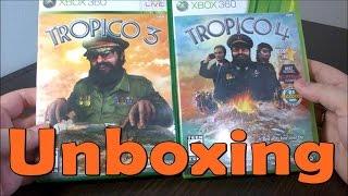 Tropico 3 \ Tropico 4  - Xbox 360 - UNBOXING