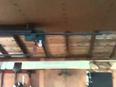 Old Genie Garage Door Opener Youtube