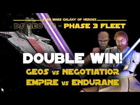 Phase 3 - No HT - Fleet Double Win - Geo DS TB   SWGOH