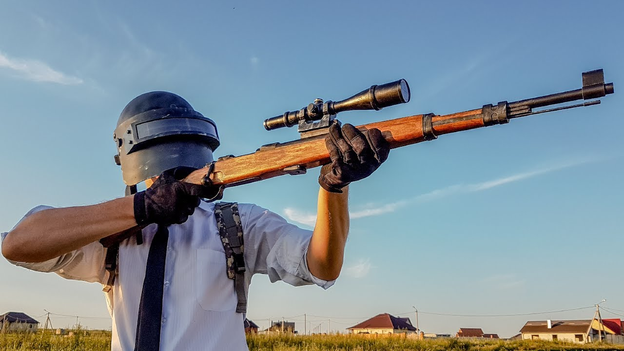 HOW TO MAKE KAR98K FROM PUBG