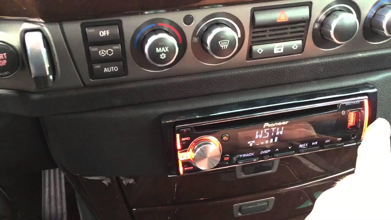 bmw 750 custom stereo 745 stereo [ 1280 x 720 Pixel ]