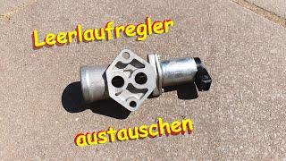 Opel X20XEV Leerlaufregler erneuern / ersetzen / Reparatur
