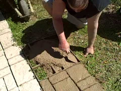 Sidewalk Mold Tutorial