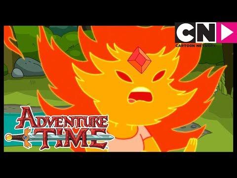 Adventure Time | Flame Princess Gets Help From Princess Bubblegum - Earth & Water | Cartoon Network