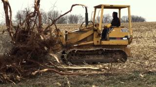 Slabaugh Services Inc clearing trees in Rockford IL