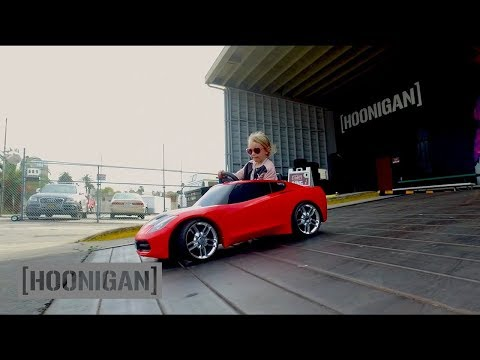 [HOONIGAN] Daily Transmission 003 – 5 Year-Old Lila Kalis Shreds the Donut Garage