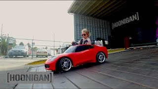 [HOONIGAN] DT 003: 5 Year-Old Lila Kalis Shreds the Donut Garage