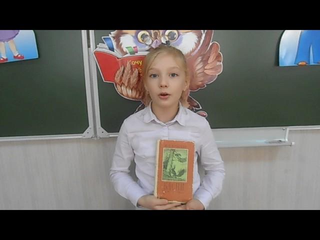 Изображение предпросмотра прочтения – АнастасияШерстнева читает произведение «Стрекоза и Муравей» И.А.Крылова