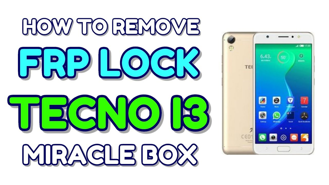 Tecno i3 bypass frp lock in Miracle box with Proof | Hindi - हिंदी
