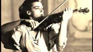 Ginette Neveu - Chausson Poème (studio recording in 1946)