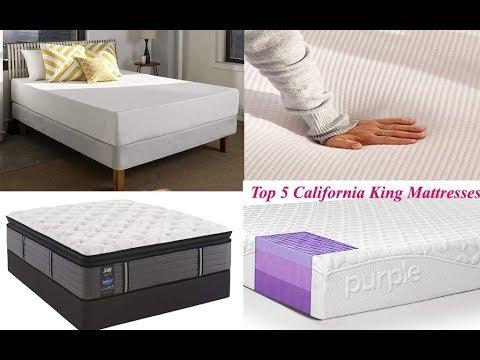Top 5 Best California King Mattresses