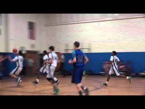 Ellenville vs Wakill modified basketball