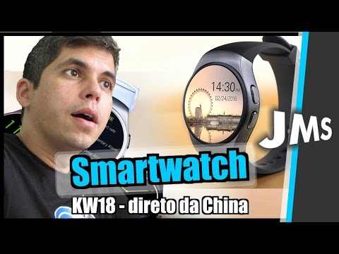Review Smartwatch KingWear KW18 da GearBest China