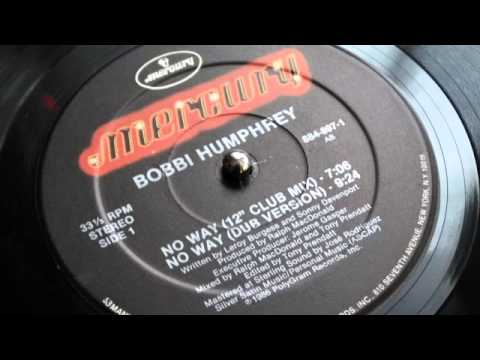 "Bobbi Humphrey - No Way (Mercury Records 12"" single 1986)"
