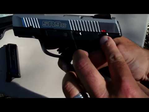 Ruger SR9c - Shooting & Review - TheFireArmGuy