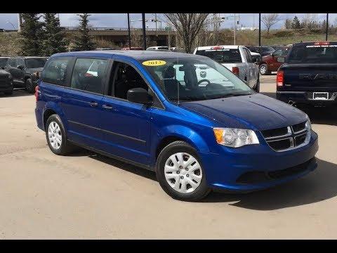 2013 Dodge Grand Caravan Se Blue Streak Pearl Edmonton Alberta