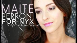 MAITE PERRONI For NYX Inspired Makeup