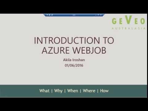 Azure WebJobs