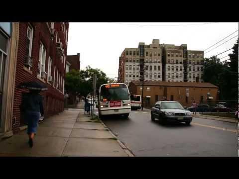 New Jersey Transit & Montgomery & Westside Bus : Sip Avenue Between West Side Avenue & JSQ Plaza