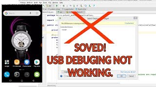 Android Studio USB DEBUGING NOT WORKING SOLVED