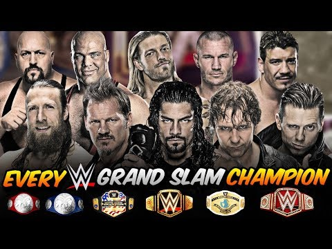 EVERY WWE GRAND-SLAM CHAMPION ►CURRENT FORMAT (OUTDATED)