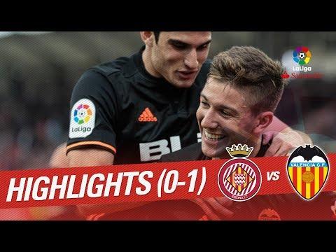 Resumen de Girona FC vs Valencia CF (0-1)
