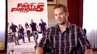 Fast & Furious 5 - Interview - Paul Walker + Dwayne Johnson + Justin Lin - Pathé