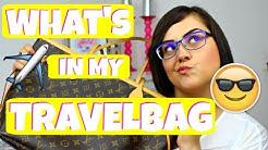 What's in my Travelbag? Handgepäck für Langstreckenflüge