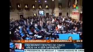 ULTIMO DISCURSO DE CRISTINA KIRCHNER ANTE LA ASAMBLEA LEGISLATIVA EL ACUERDO CON CHINA