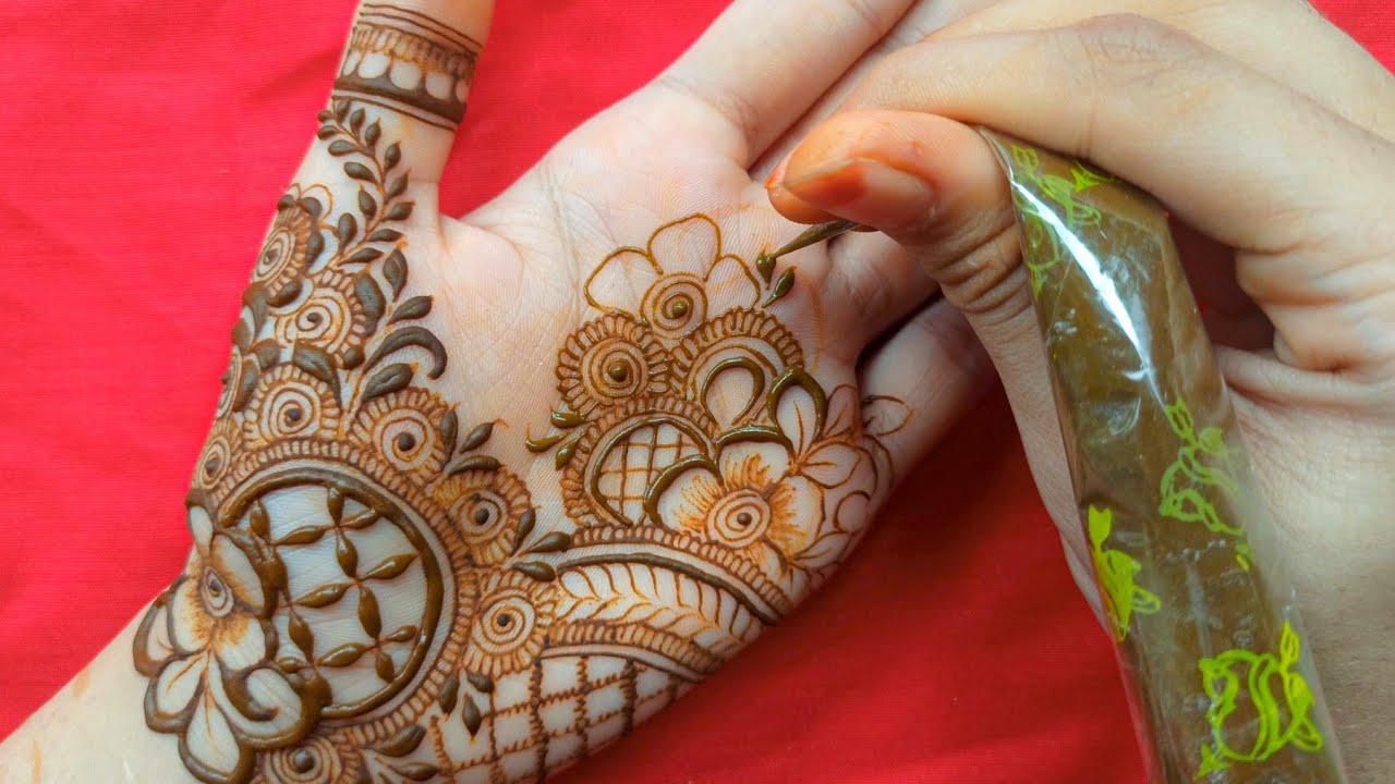 Gorgeous Palm Mehndi Design    Meher's Henna