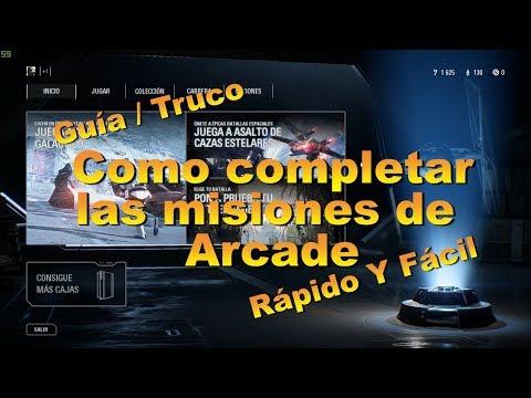 [GUÍA / TRUCO] COMPLETAR ÁRCADE FÁCIL Y RÁPIDO #1   STAR WARS BATTLEFRONT 2