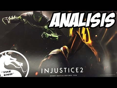 """Injustice 2 Trailer-Analisis Completo 