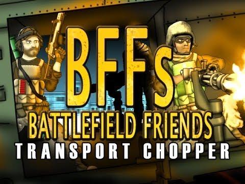 Battlefield Friends Transport Chopper S2 Ep13
