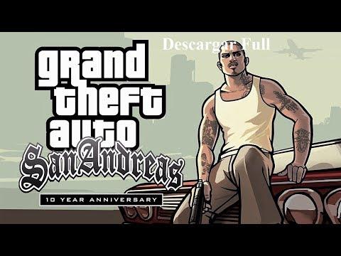 Como Descargar GTA SA N°10 Aniversario Remasterizado