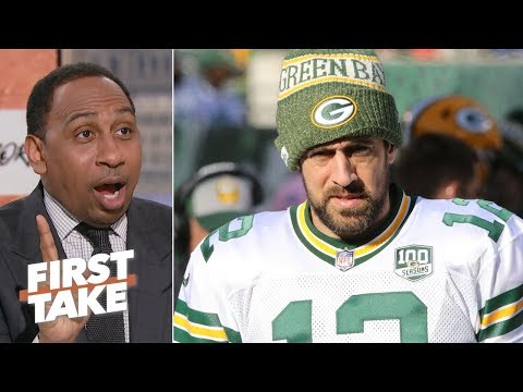 Packers are showing Aaron Rodgers a 'lack of appreciation and respect' - Stephen A. | First Take